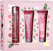 Parfémy, Parfumerie, kosmetika Caudalie Rose De Vigne - Sada (edt/50ml + sh/gel/50ml + lot/50ml)