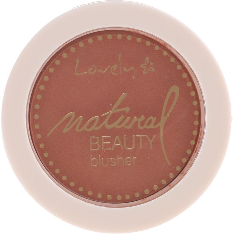 Kompaktní tvářenka na obličej - Lovely Natural Beauty Blusher