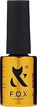 Parfémy, Parfumerie, kosmetika Top na nehty - F.O.X Hypoallergenic Top No Wipe