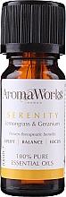 Parfémy, Parfumerie, kosmetika Směs esenciálních olejů - AromaWorks Serenity Essential Oil