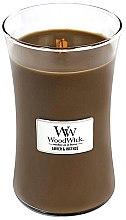 Parfémy, Parfumerie, kosmetika Vonná svíčka ve sklenici - WoodWick Hourglass Candle Amber & Incense