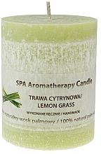 """Parfémy, Parfumerie, kosmetika Vonná svíčka """"Lemongrass"""" - The Secret Soap Store SPA Aromatherapy Candle Lemon Grass"""