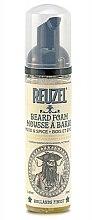 Parfémy, Parfumerie, kosmetika Pěna kondicionér na vousy Dřevo a koření - Reuzel Beard Foam Wood And Spice