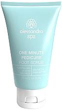 Parfémy, Parfumerie, kosmetika Peeling na pokožku nohou a chodidel - Alessandro International Spa One Minute Pedicure Foot Scrub