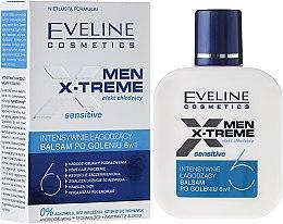 Parfémy, Parfumerie, kosmetika Zklidňující balzám po holení 6v1 - Eveline Cosmetics Men Extreme Sensitive