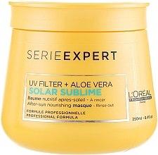 Parfémy, Parfumerie, kosmetika Vyživná maska na vlasy po opálení - L'oreal Professionnel Serie Expert Solar Sublime UV Filter + Aloe Vera