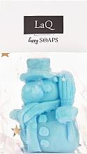 Parfémy, Parfumerie, kosmetika Přírodní mýdlo ruční práce Sněhulák s vůní ovocí - LaQ Happy Soaps Natural Soap