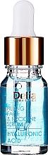 Parfémy, Parfumerie, kosmetika Intenzivní sérum proti vráskám na obličej a krk s kyselinou hyaluronovo - Delia Face Care Hyaluronic Acid Face Neckline Intensive Serum