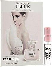Parfémy, Parfumerie, kosmetika Gianfranco Ferre Camicia 113 - Toaletní voda (vzorek)