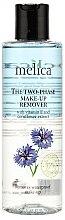 Parfémy, Parfumerie, kosmetika Dvoufázový odstraňovač make-upu s vitaminem E a extraktem chrpy luční - Melica Organic The Two Phase Make-Up Remover