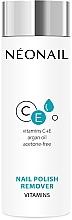 Parfémy, Parfumerie, kosmetika Odstraňovač laku na nehty s vitamíny - NeoNail Professional Nail Polish Remover