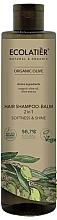 Parfémy, Parfumerie, kosmetika Vlasový šampon-balzám - Ecolatier Organic Olive Hair-Shampoo Balm