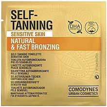 Parfémy, Parfumerie, kosmetika Samoopalovací ubrousek pro citlivou pokožku - Comodynes Self-Tanning Sensitive Skin