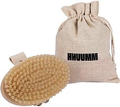Parfémy, Parfumerie, kosmetika Masážní a koupací kartáč, měkké vlákno, světle hnědý - Hhuumm № 3
