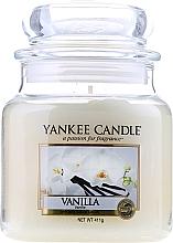 "Parfémy, Parfumerie, kosmetika Aromatická svíčka ""Vanilka"" - Yankee Candle Vanilla"