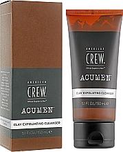 Parfémy, Parfumerie, kosmetika Exfoliační čisticí pleťový přípravek - American Crew Acumen Clay Exfoliating Cleanser