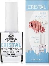 Parfémy, Parfumerie, kosmetika Sušící vrchní lak na nehty - Constance Carroll Cristal Shine Top Coat