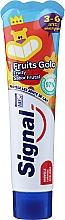 Parfémy, Parfumerie, kosmetika Zubní pasta s ovocnou příchutí, pro děti od 3 do 6 let - Signal Kids Fruit Flavor Toothpaste