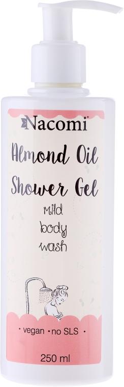"""Sprchový gel """"Mandle"""" - Nacomi Natural Shower Gel — foto N1"""