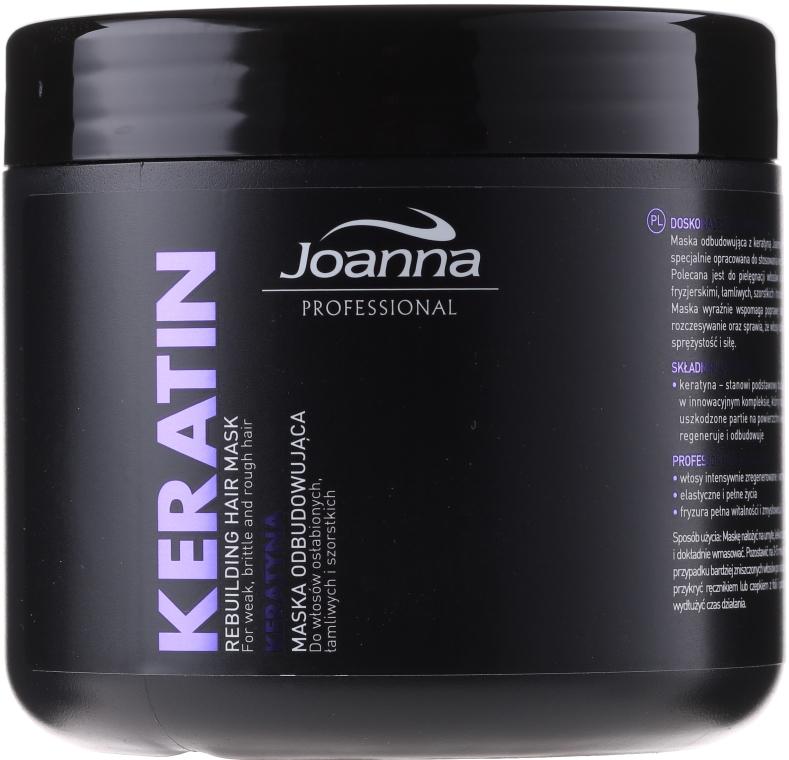 Maska na vlasy s keratinem - Joanna Professional