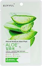 Parfémy, Parfumerie, kosmetika Hydratační látková pleťová maska s Aloe Vera - Eunyul Natural Moisture Mask Pack Aloe