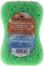 Parfémy, Parfumerie, kosmetika Mycí houba do koupele Motyl 30406, bílo-zelená - Top Choice