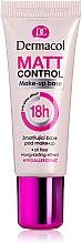 Parfémy, Parfumerie, kosmetika Matující podkladová báze pod make-up - Dermacol Matt Control MakeUp Base 18h