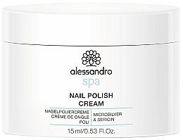 Parfémy, Parfumerie, kosmetika Krém na nehty - Alessandro International Spa Nail Polish Cream