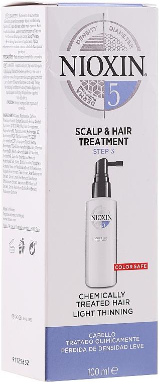 Vyživující maska na vlasy - Nioxin Thinning Hair System 5 Scalp Treatment — foto N1