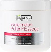 Parfémy, Parfumerie, kosmetika Masážní tělový olej - Bielenda Professional Watermelon Body Butter Massage