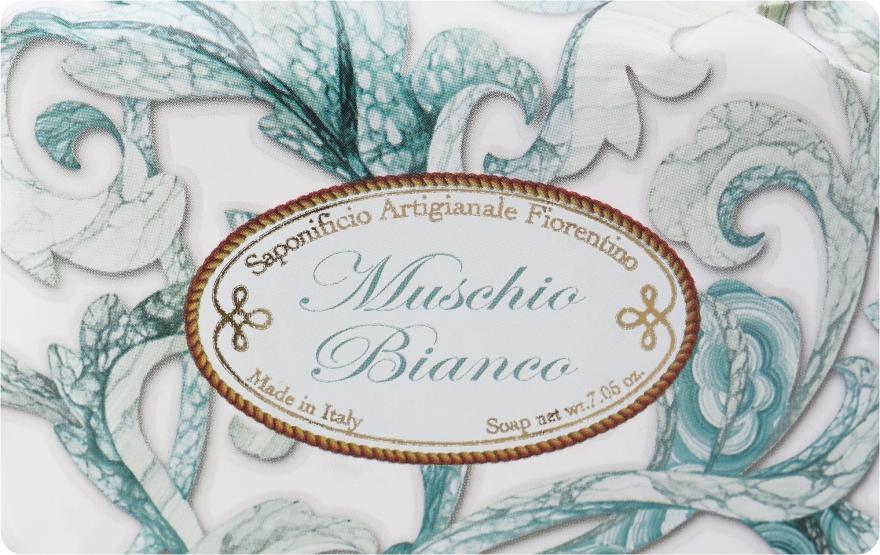 Toaletní mýdlo Bílé pižmo - Saponificio Artigianale Fiorentino White Musk