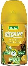 Parfémy, Parfumerie, kosmetika Osvěžovač vzduchu Energie citrusu - Airpure Air-O-Matic Refill Citrus Zing