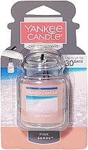 Parfémy, Parfumerie, kosmetika Gelová vůně-osvěžovač do auta - Yankee Candle Car Jar Ultimate Pink Sands