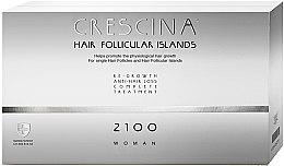 Parfémy, Parfumerie, kosmetika Komplex léčby vlasů pro ženy v ampulích - Labo Crescina Complete Treatment Hair Follicular Island 2100