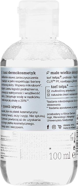 Micelární tekutina na mytí obličeje a očí - Tolpa Dermo Face Physio Mikrobiom Micellar Liquid — foto N2