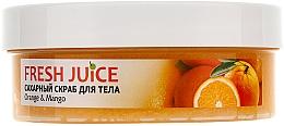 Cukrový tělový peeling - Fresh Juice Orange and Mango — foto N5