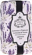 Parfémy, Parfumerie, kosmetika Přírodní mýdlo Levandule a tymián - Essencias De Portugal Natura Lavander&Thyme Soap