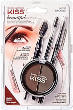Parfémy, Parfumerie, kosmetika Sada na modelování obočí - Kiss Beautiful Brow Kit