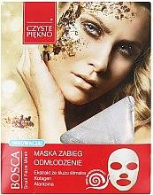 Parfémy, Parfumerie, kosmetika Maska na obličej s mucinem - Czyste Piekno Bosca Snail Face Mask