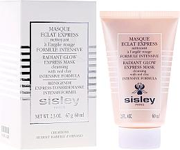 Parfémy, Parfumerie, kosmetika Expresní maska z červené hlíny - Sisley Eclat Express Radiant Glow Express Mask Cleansing With Red Clay Intensive Formula