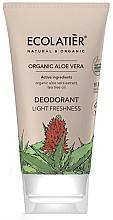 Parfémy, Parfumerie, kosmetika Deodorant Lehkost a svěžest - Ecolatier Organic Aloe Vera Deodorant