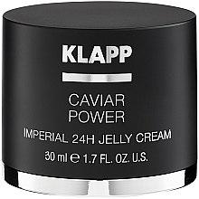 """Parfémy, Parfumerie, kosmetika Krém želé """"Energie kaviáru Imperial"""" - Klapp Caviar Power Imperial 24H Jelly Cream"""