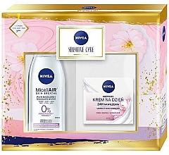 Parfémy, Parfumerie, kosmetika Sada - Nivea Sensitive Care (mic/water/200ml + f/cr/50ml)