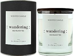 Parfémy, Parfumerie, kosmetika Aromatická svíčka Goji - Ambientair The Olphactory Wandering Goji Black Tea Black Design