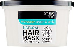 Vyživující maska na vlasy - Organic Shop Argan And Amla Hair Mask — foto N2