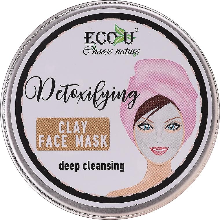 Pleťová maska Hluboké čištění - Eco U Detoxifying Deep Cleansing Clay Face Mask