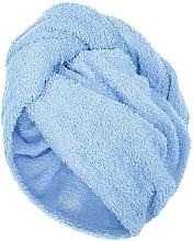 Parfémy, Parfumerie, kosmetika Turban na vlasy, modrý - MakeUp
