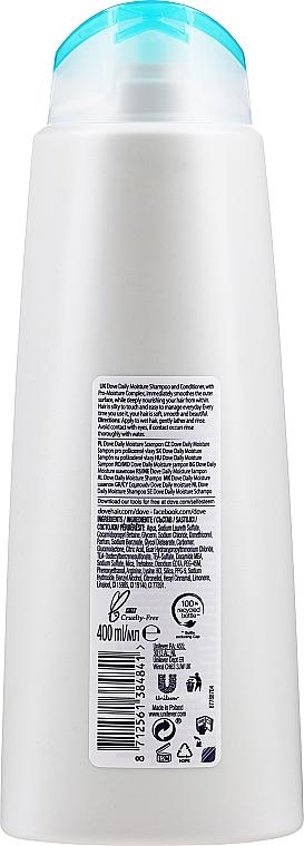 Šampon na vlasy - Dove Daily Moisture Shampoo — foto N2