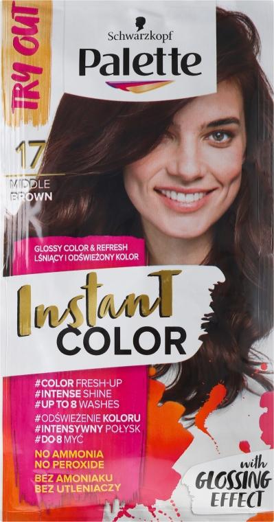 Tónovací šampon na vlasy bez amoniaku - Schwarzkopf Palette Instant Color