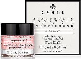 Parfémy, Parfumerie, kosmetika Peelling na rty - Avant Velvet Perfecting Rose Sugar Lip Scrub